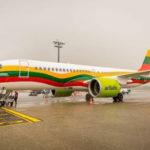 аirBaltic раскрасила самолеты в цвета флагов прибалтийских государств