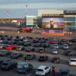 Вильнюс превращает свой аэропорт в кинотеатр под открытым небом